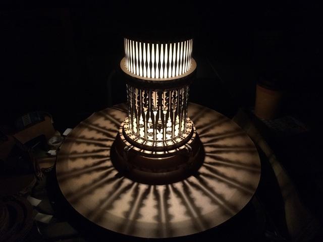 光溢れるre:クラチタ灯籠